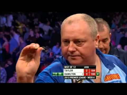 2013 Premier League Darts - Phil Taylor vs Andy Hamilton - Week 6