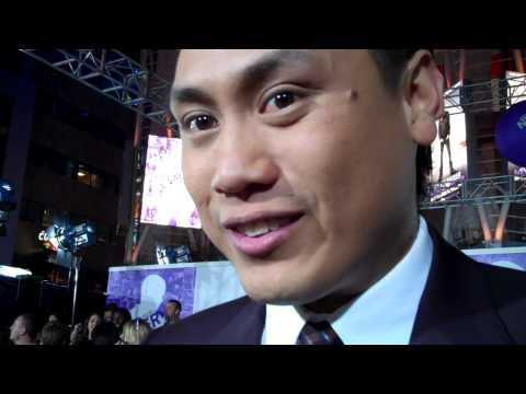 Jon Chu at the premiere of