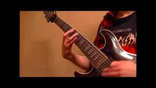 """Dawn of Dementia - """"Remnants (of the Xenoverse)"""" Guitar Play-through Demonstration"""