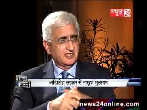 Salman Khurshid WILL NOT NEGOTIATE with PAKISTAN - EXCLUSIVE INTERVIEW