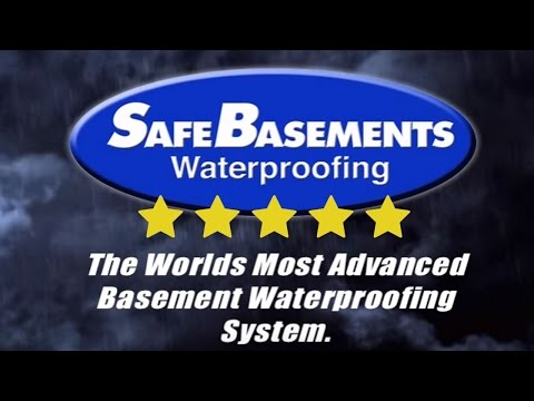 Basement Waterproofing - Basement Drainage System - Safe Basements Waterproofing