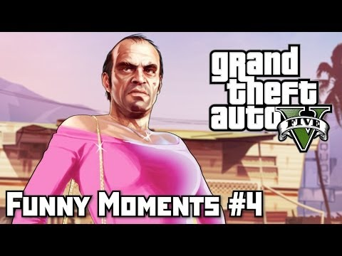 GTA 5 Приколы (Funny Moments) #4