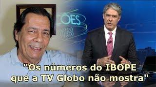 """BOLSONARO - """"Os números do IBOPE que a TV Globo não mostra"""""""