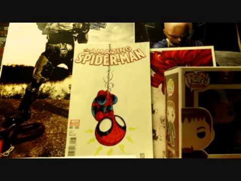 Comic Book Grab & Deadpool Heroclix Unboxing 4/30/14