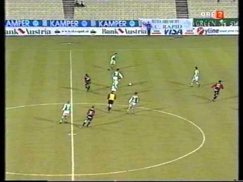 Rapid - Admira 24. Runde 2000/2001 Hans Krankl blamiert Rapid!!