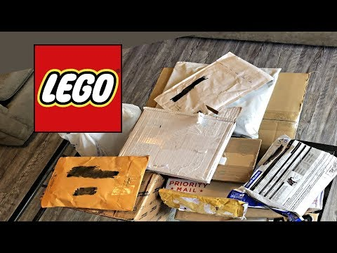 LEGO Mystery Unboxing and Haul for December 2017!