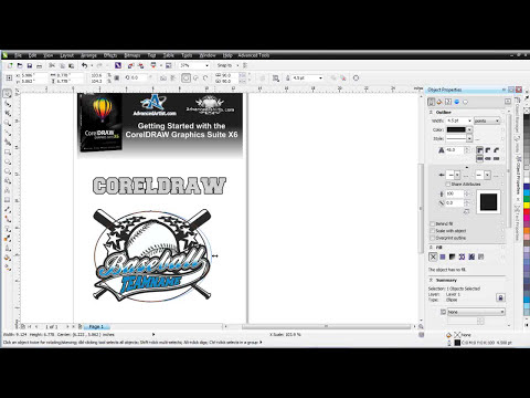 CorelDRAW X6 for working with text