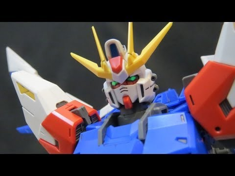 MG Build Strike Gundam (1: Unbox) Build Fighters Full Package plastic model review ガンプラ