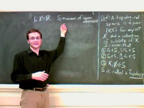 General Topology Lecture 1 Part 1