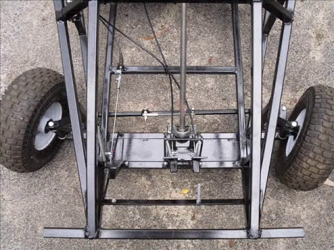 Rigid frame go kart build slideshow