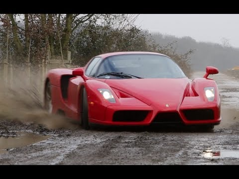 The Ferrari Enzo WRC. Nuts a lot!!!!