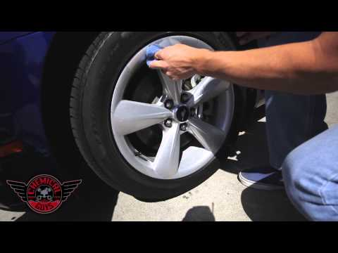 Quick Wheel & Tire Detailing - Chemical Guys Wheel Guard VRP Dressing Mustang GT