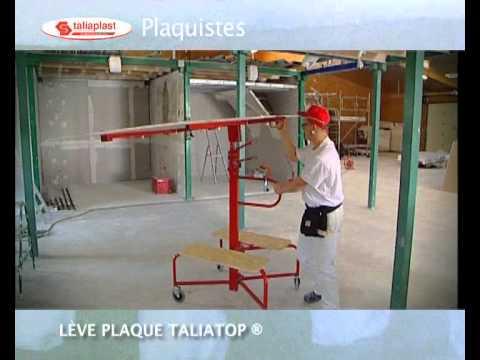 materiel plaquiste leve plaque placo taliatopde chez taliaplast youtube. Black Bedroom Furniture Sets. Home Design Ideas