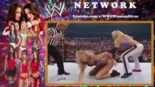 Trish Stratus VS Stacy Keibler Women's Title