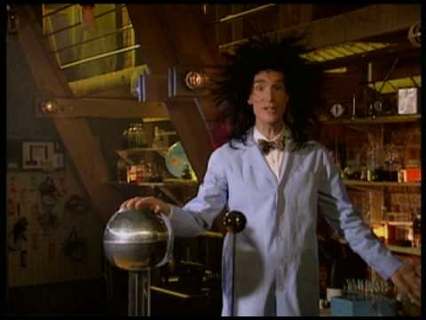 Bill Nye The Science Guy on Static Electricity (Full Clip)