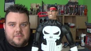 Marvel Legends Punisher Vintage Retro Series Action Figure Unboxing Toy Review