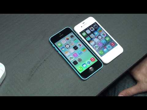 Apple iPhone 4S VS Apple iPhone 5C Detailed Review SPEED TEST
