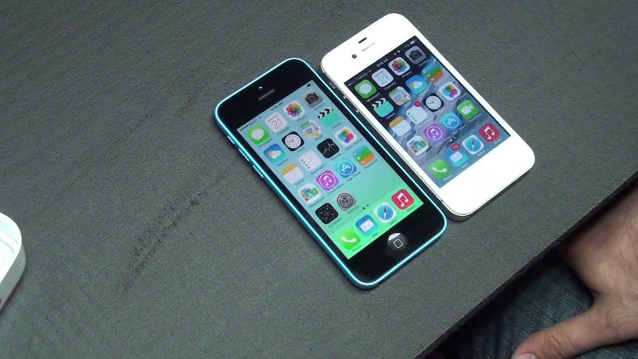 Apple iPhone 4S VS Apple iPhone 5C Detailed Review SPEED ...