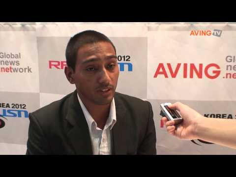 [RFID/USN KOREA 2012] Video Interview with Bikram acharya, ENRD Nepal Microwave Engineer