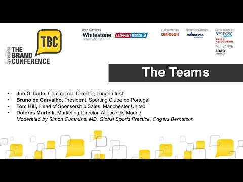 The Brand Conference 2014: The Teams