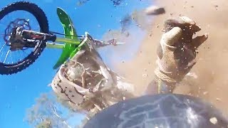 Scary Dirtbike Crashes 2017