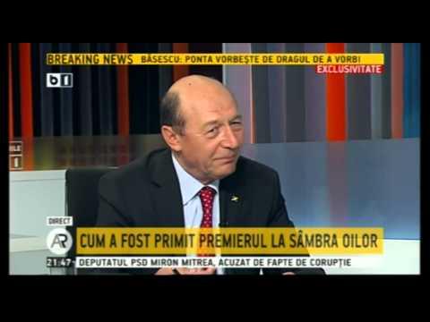 Traian Basescu, la Actualitatea Romaneasca (B1 TV), 4 Mai 2014 - Emisiune completa