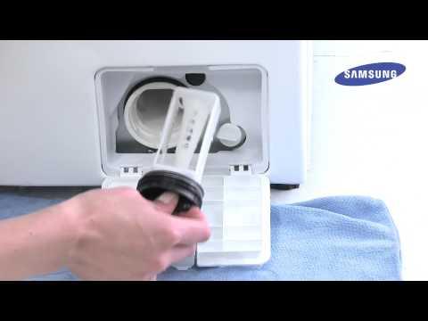 Pralki Samsung | Porady | Czyszczenie Filtra Pompy