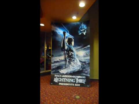 Percy Jackson and the Lightning Thief Movie Poster @ Empire Theatre