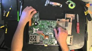 ACER Travemate 8100 take apart, disassemble, how to open
