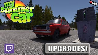 "{NL} ""UPGRADES!"" My Summer Car LIVE S2 TWITCH UPLOAD"