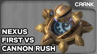 Nexus First vs Cannon Rush - Crank's Variety StarCraft 2