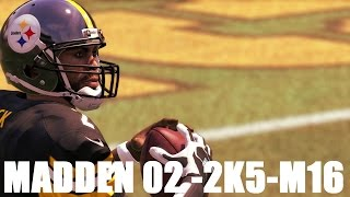 MIKE VICK THROUGH THE YEARS - MADDEN 2002 -ESPN NFL 2K5 -MADDEN 16