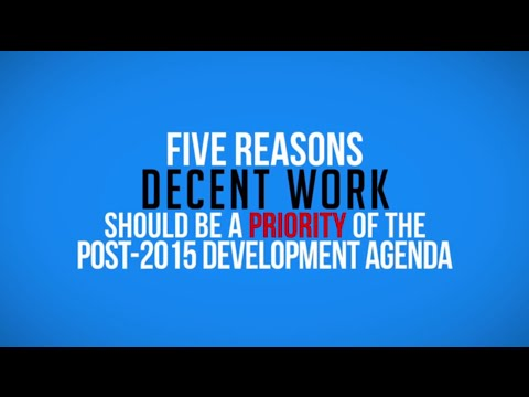 The Millennium Development Goals and beyond: An ILO perspective