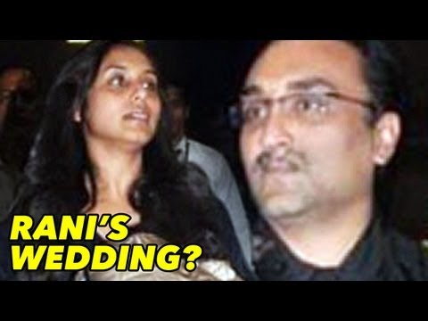 Rani Mukerji's Wedding SOON?