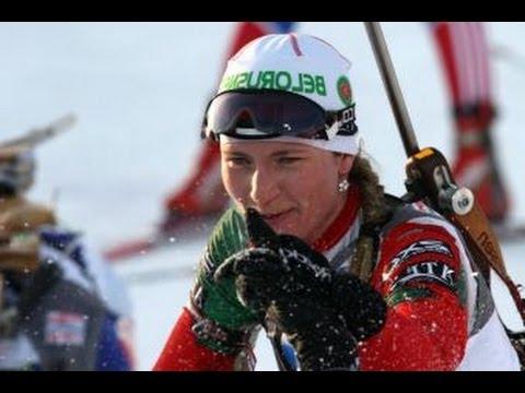 Belarus Darya Domracheva 3rd staight Gold Medal Sochi Olympics