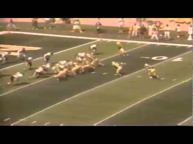 Highlights from the 9-19-1992 Texas Tech-Oregon game