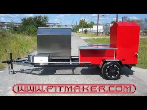 epic bbq pits custom texan gun bbq tailgate trailer by
