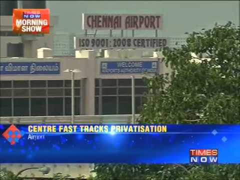 Row over privatisation of Chennai airport
