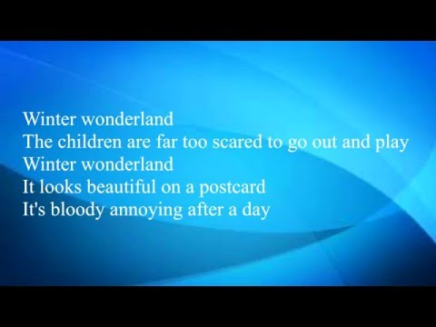 The Courteeners - Winter Wonderland