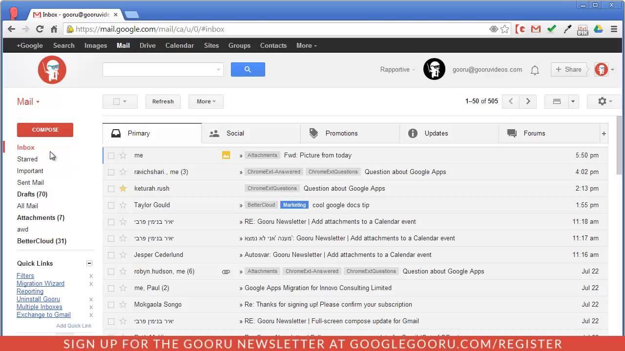 Gmail max storage space