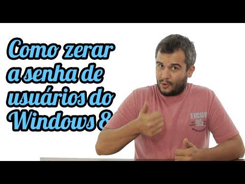 Como zerar / quebrar a senha do Windows 8.1 e 8