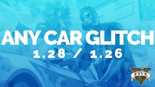 GTA 5 Online: FREE CAR GLITCH 1.28/1.26 - CAR DUPLICATE GLITCH (Xbox 360, PS3, Xbox One, PS4, PC)