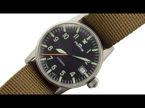 Fortis Flieger Midsize Watch (620.10.46.1)