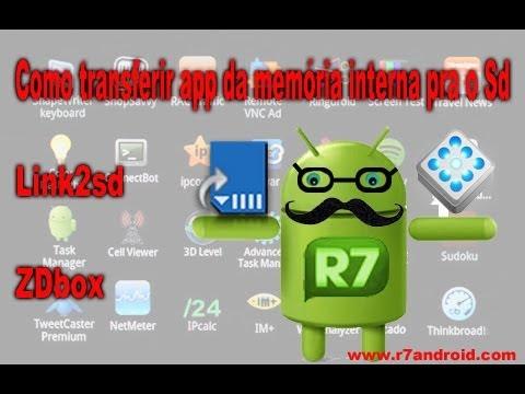 Android - Transferir apps da memória interna pra o Sd