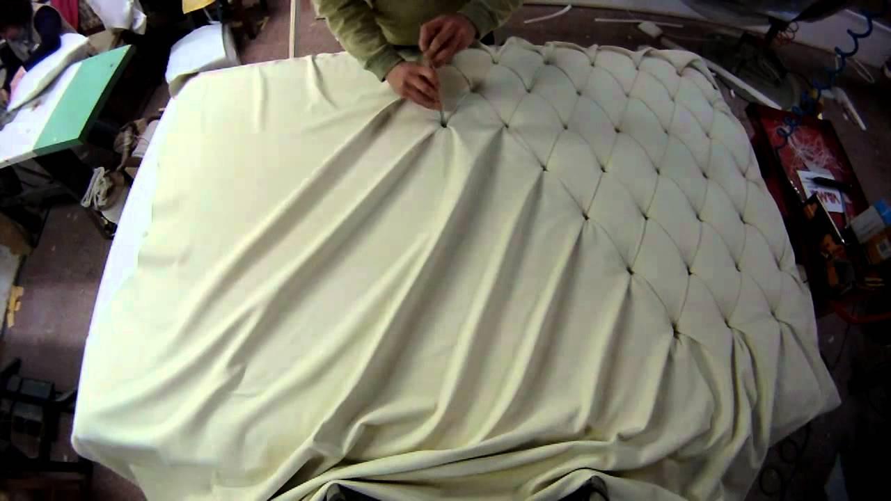 Как обтянуть кровать кожей