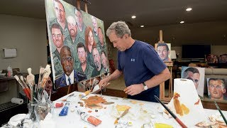The Art of Painting: A Conversation with President Bush