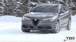 2018 Alfa Romeo Stelvio - Ice Driving Review