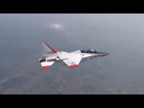 Co-piloting South Korea's supersonic jet