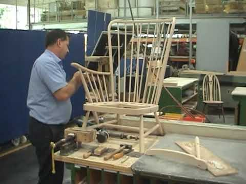 Making an ercol Evergreen chair