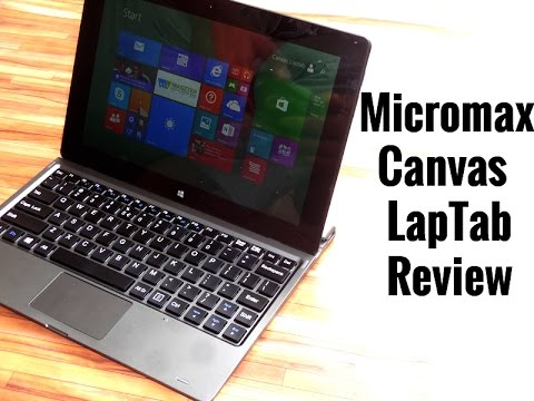 Micromax Canvas Laptab Full Review